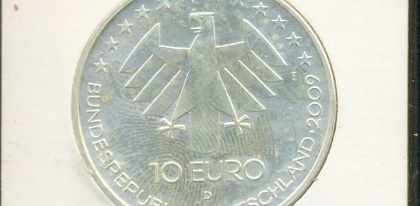 10 euro Nazione: Germania Anno: 2009 Commemorativa