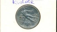 20 centesimi Nazione: Italia Anno: 1909 Ruotata