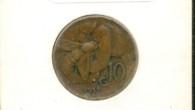 10 centesimi Nazione: Italia Anno: 1937 Ape